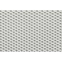 EXPANDÁLT LEMEZ / 12x6x2x1 mm / 1000x2000 mm / horganyzott acél
