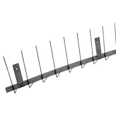 GALAMBRIASZTÓ / 2 tüskés csatornára szerelhető / 2 mm / 1000 mm / 1.4301