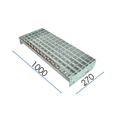 LÉPCSŐELEM / SP 330-34-38-3 / 1000x270 mm / S235JR horganyzott acél