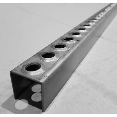 LEMEZPROFIL / Létrafok / 35x34x2 mm / hossz 2000 mm / acél