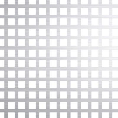 PERFORÁLT LEMEZ / QG 5-7.5 / 1 mm / 1000x2000 mm / Al99.5% alumínium