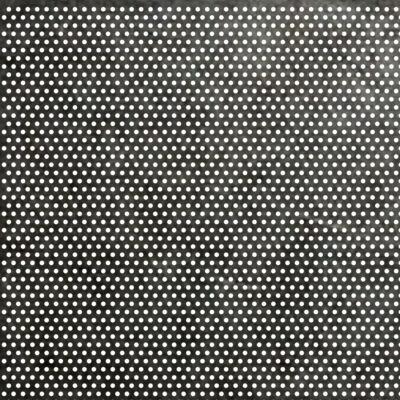 PERFORÁLT LEMEZ / RV 1-2 / 0,8 mm / 1000x2000 mm / 1.4301 rozsdamentes acél