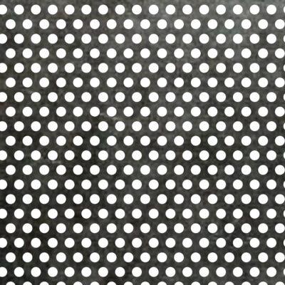 PERFORÁLT LEMEZ / RV 3-5 / 1 mm / 1000x2000 mm / 1.4301 rozsdamentes acél