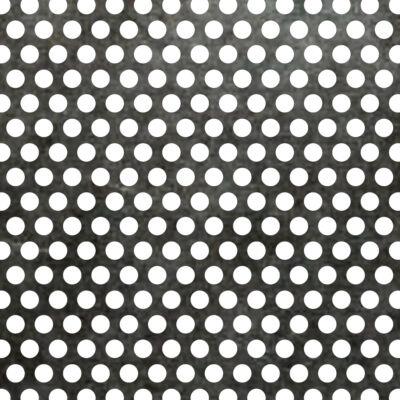 PERFORÁLT LEMEZ / Rv 4-6 / 1 mm / 1000x2000 mm / vörösréz