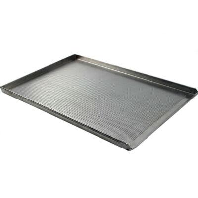 PERFORÁLT LEMEZ / SÜTŐTÁLCA / 580x780 mm / B TÍPUS / AlMn ötvözött alumínium