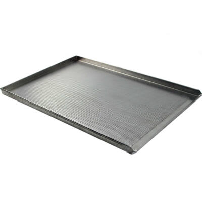 PERFORÁLT LEMEZ / SÜTŐTÁLCA / 600X400 mm / B TÍPUS / AlMn ötvözött alumínium